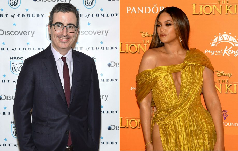 John Oliver confirms Beyoncé was Photoshopped into the official 'Lion King' cast photo