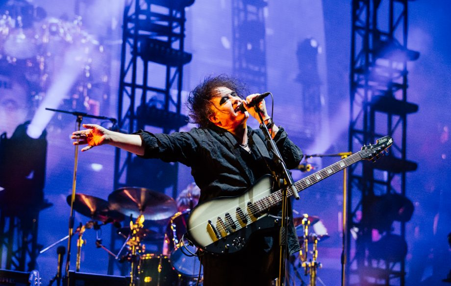 Here are the set times for The Cure's first Scottish show in 27 years