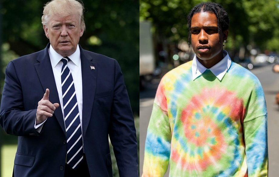 Trump team reportedly 'angry' that A$AP Rocky didn't thank them for involvement in court case