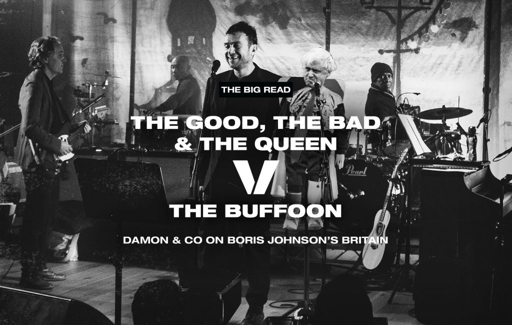 """9cc6fcc624d The Big Read – The Good, The Bad & The Queen: """"There's something ..."""