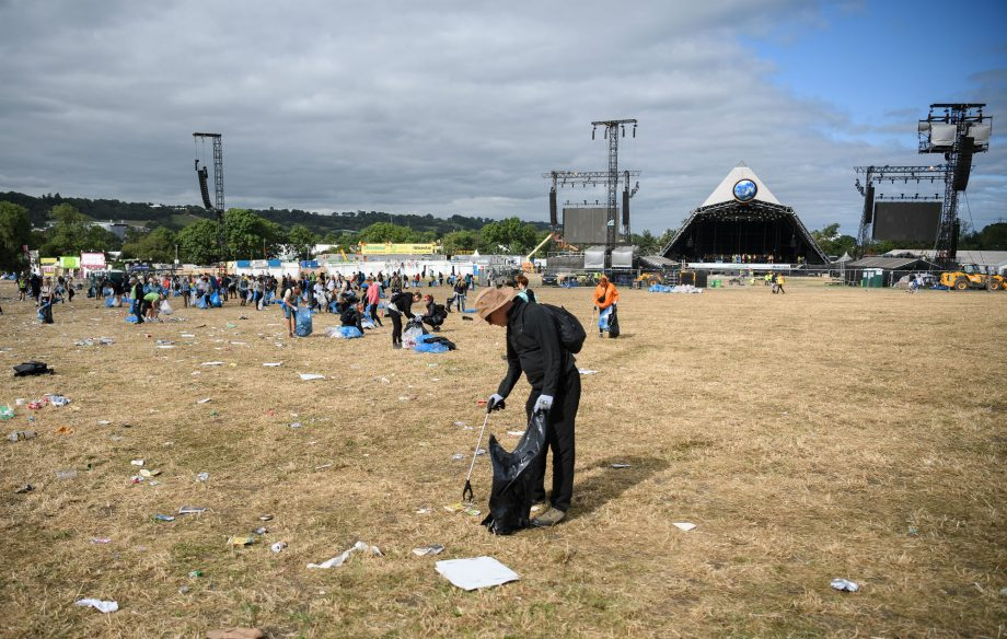 Glastonbury litter pickers reveal the weirdest things they've found on site