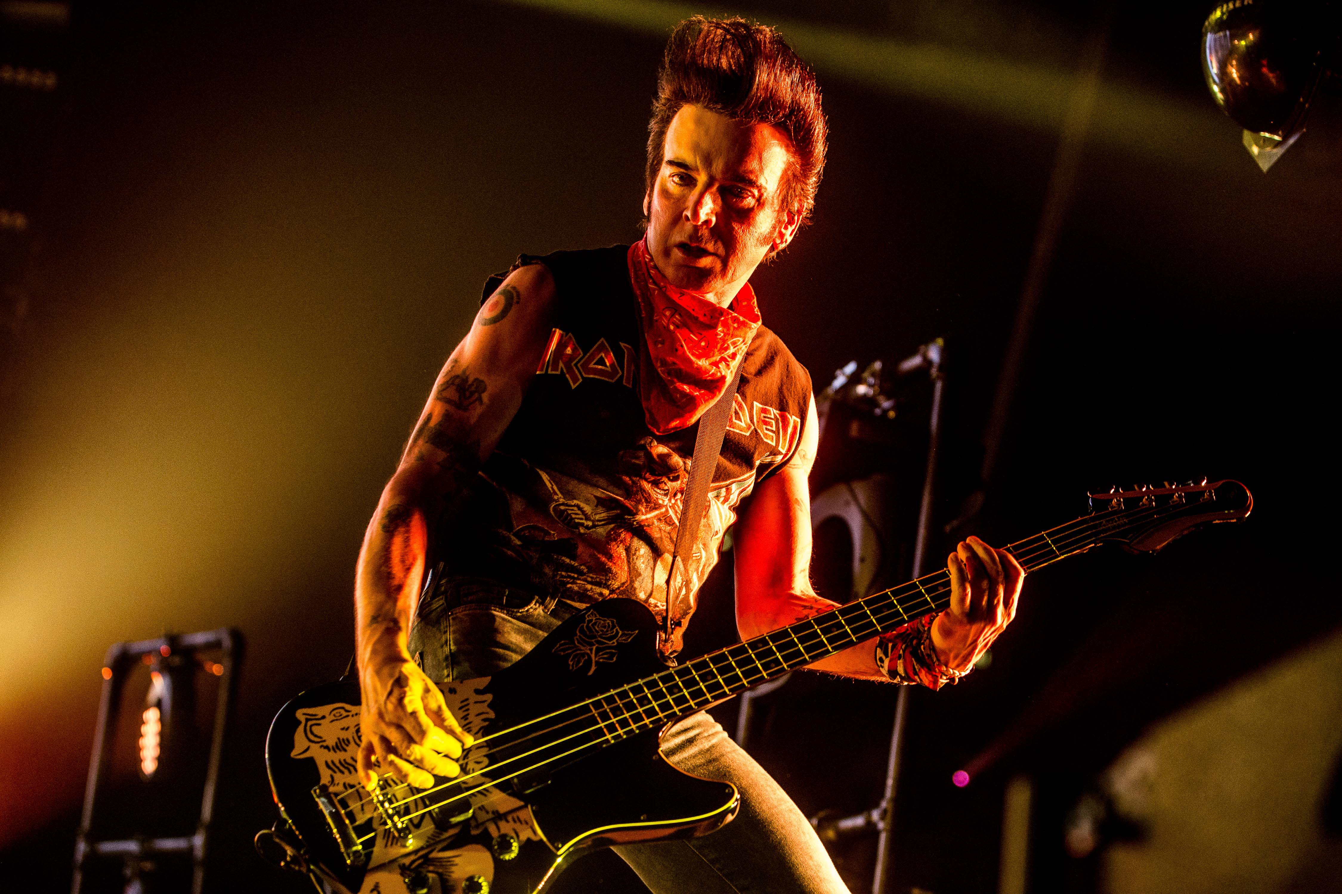 The Cure's Simon Gallup replaced by his son on bass as he's forced to pull out of Japanese festival
