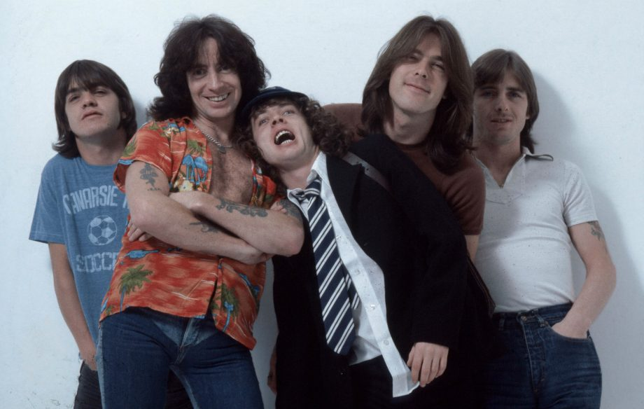 Police blast AC/DC on their radio to clear cattle from the road