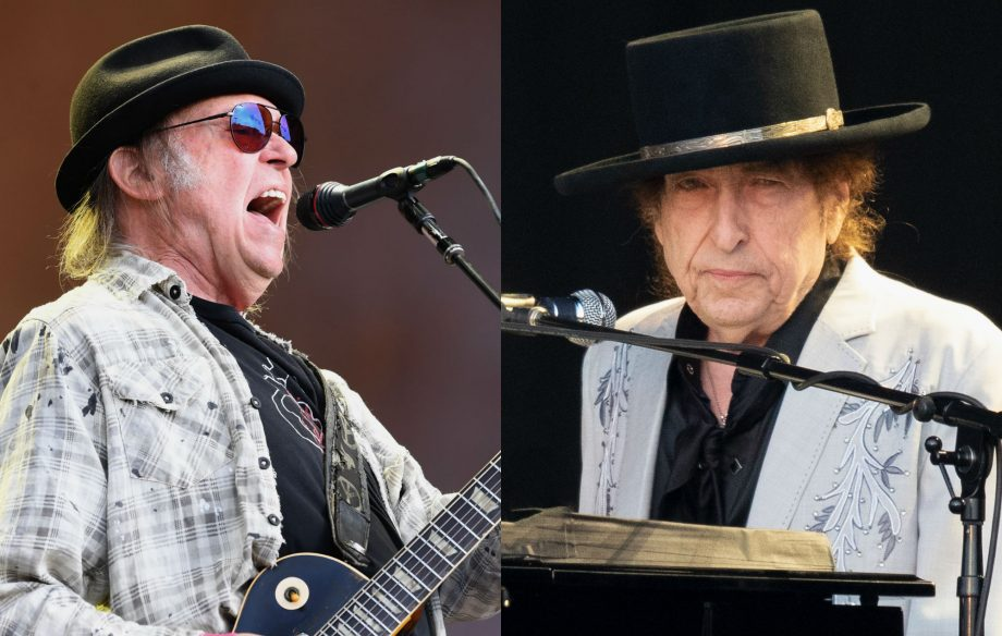 Watch Neil Young and Bob Dylan perform hit-filled sets at Hyde Park