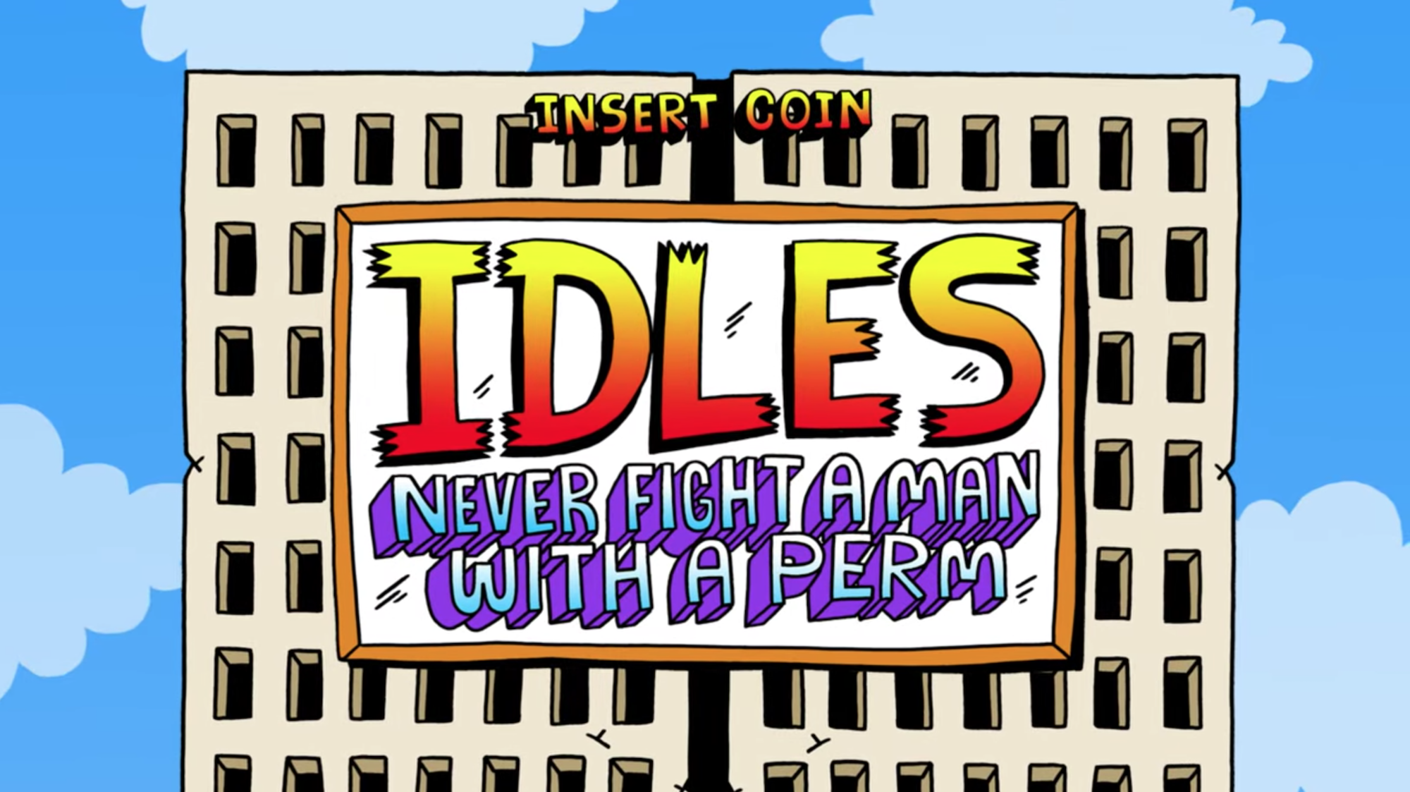 Head Into A Retro Arcade Game In Idles New Video For