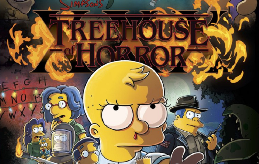 Halloween Simpsons Treehouse Of Horror.The Simpsons To Tackle Stranger Things In New Treehouse Of Horror