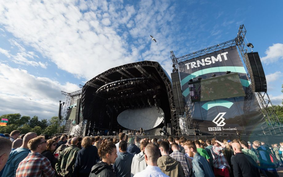 Old woman on shoulders is the unlikely hero of TRNSMT