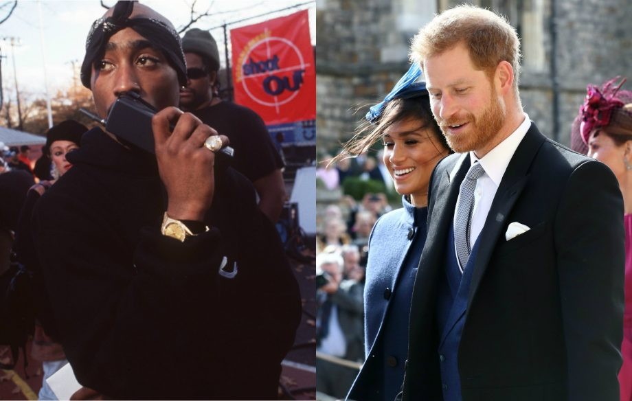 2Pac's music was spun at the Royal Wedding afterparty