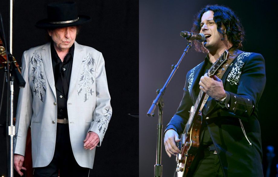 """Jack White teases collaboration with """"incredible mentor"""" Bob Dylan"""
