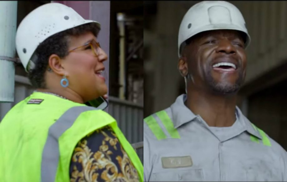 Terry Crews and Brittany Howard