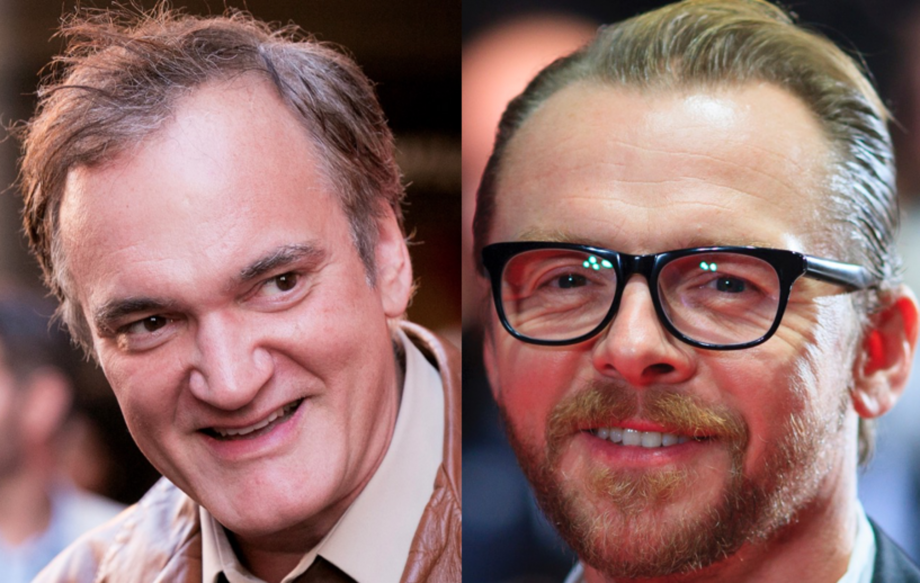 Quentin Tarantino Is Not Happy With Simon Pegg S Comments