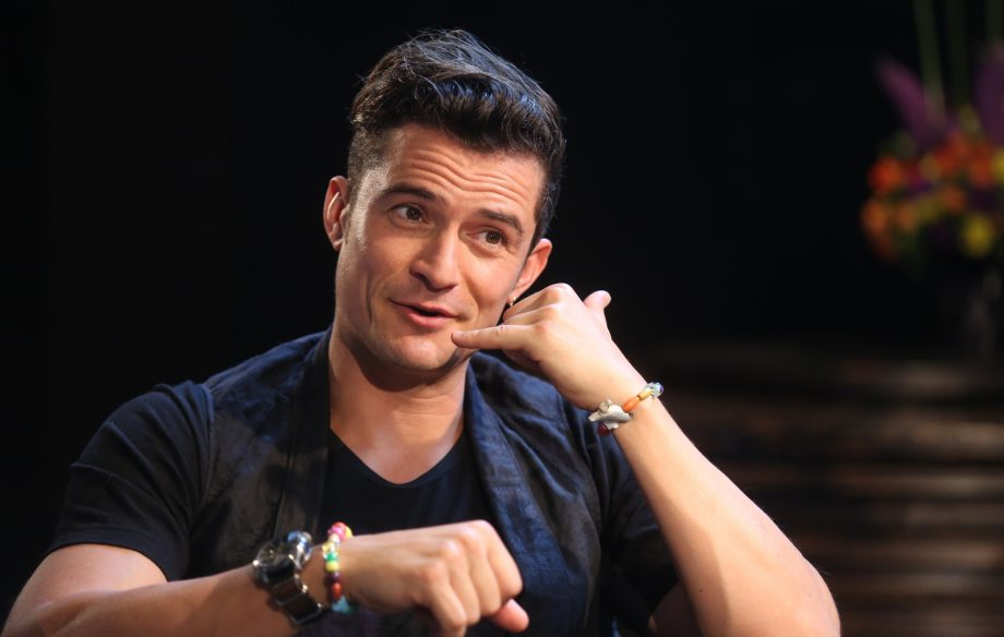 It doesn't look like Orlando Bloom will be appearing in