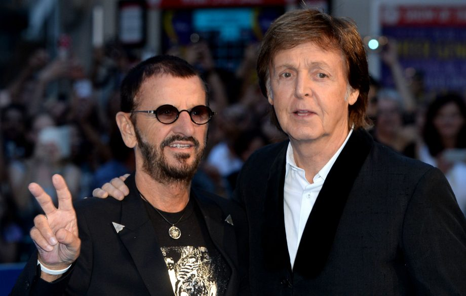 With a little help from my friends: watch Paul McCartney bring out Ringo Starr for the final night of his US tour