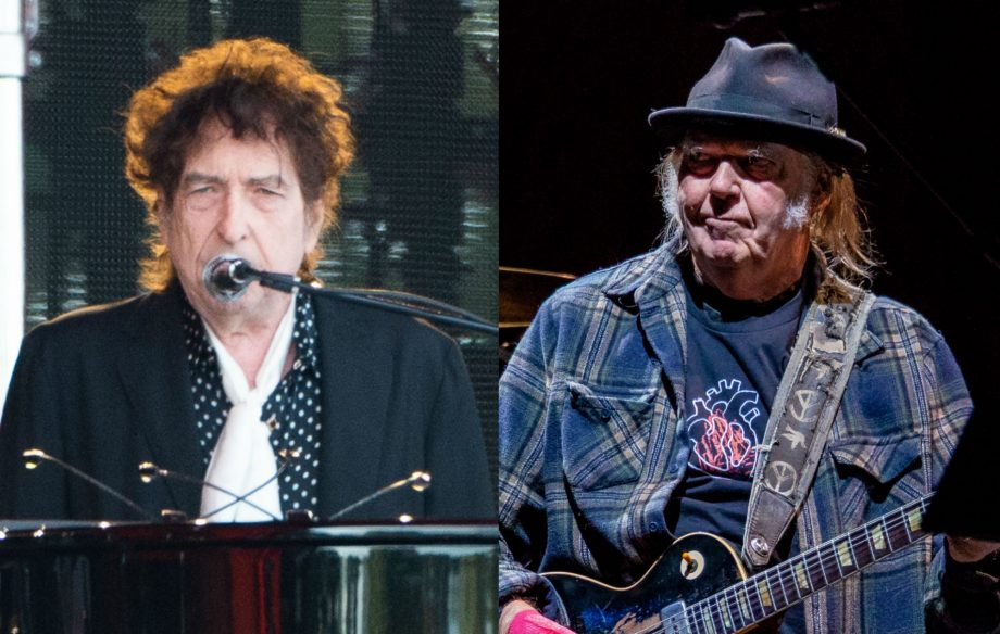 These are the stage times for Bob Dylan and Neil Young at Hyde Park