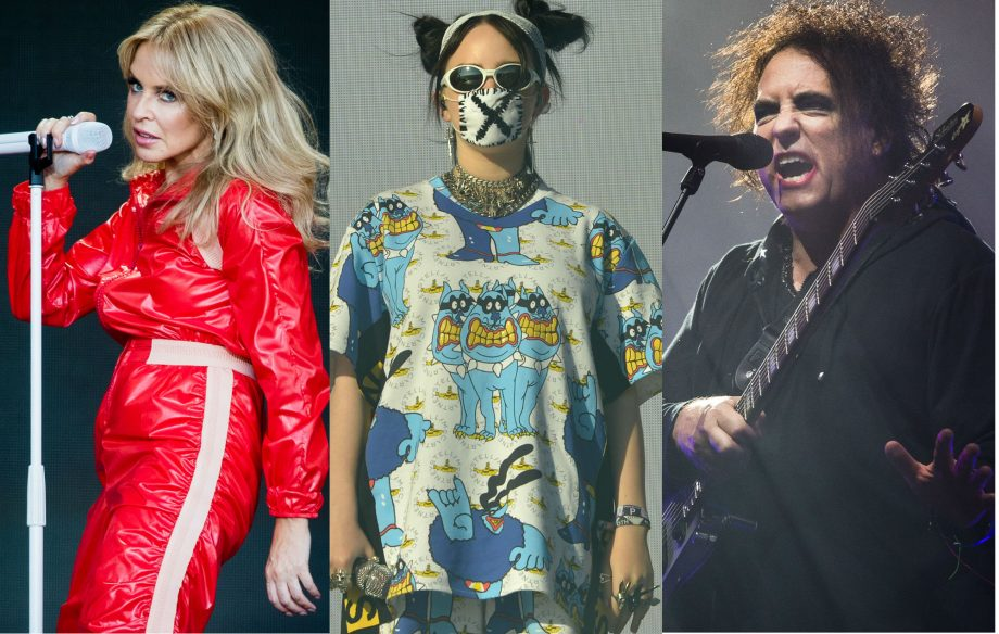 Kylie Minogue, The Cure's Robert Smith and Billie Eilish donate Glastonbury outfits to charity