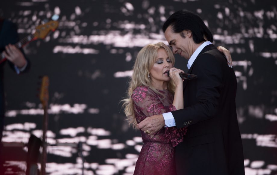Kylie Minogue Becomes The Most Viewed Glastonbury