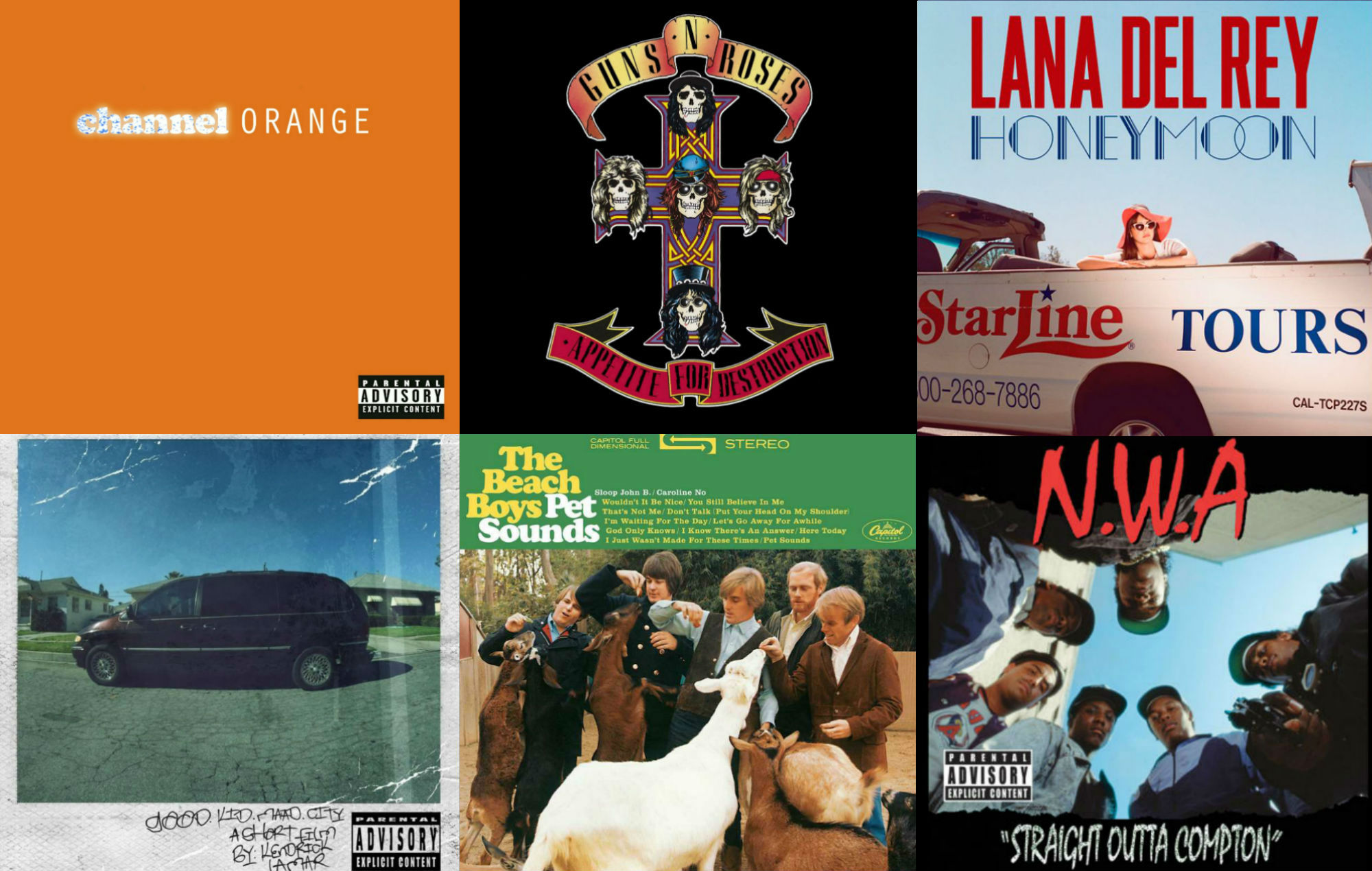 The 12 greatest albums about Los Angeles, California