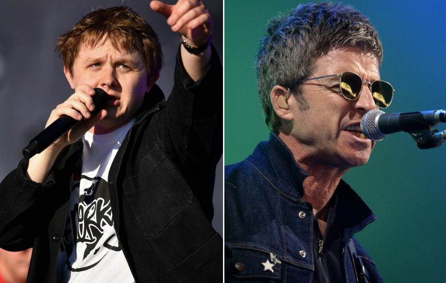"""It's gonna be OK!"": Lewis Capaldi reveals what happened when he finally met Noel Gallagher"