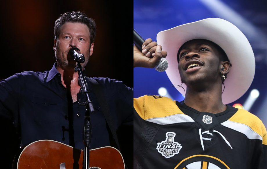 Blake Shelton denies dissing Lil Nas X's 'Old Town Road' on new song 'Hell Right'