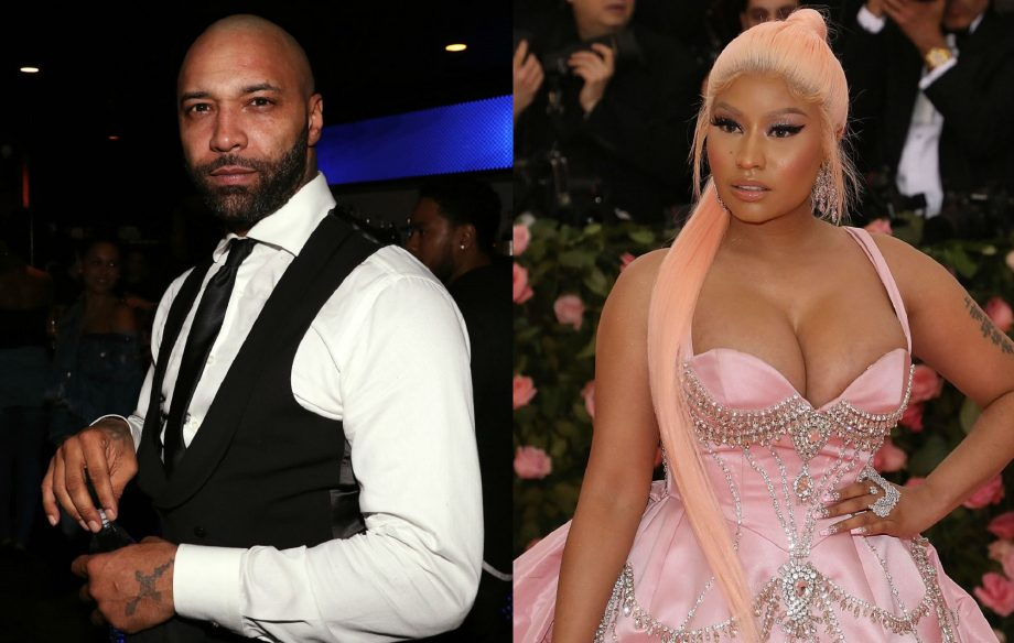 "Joe Budden defends himself over Nicki Minaj bust-up declaring: ""I don't tear down women"""