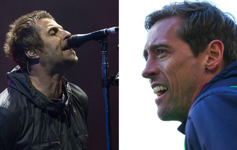 Peter Crouch reckons Liam Gallagher asked him to play bass