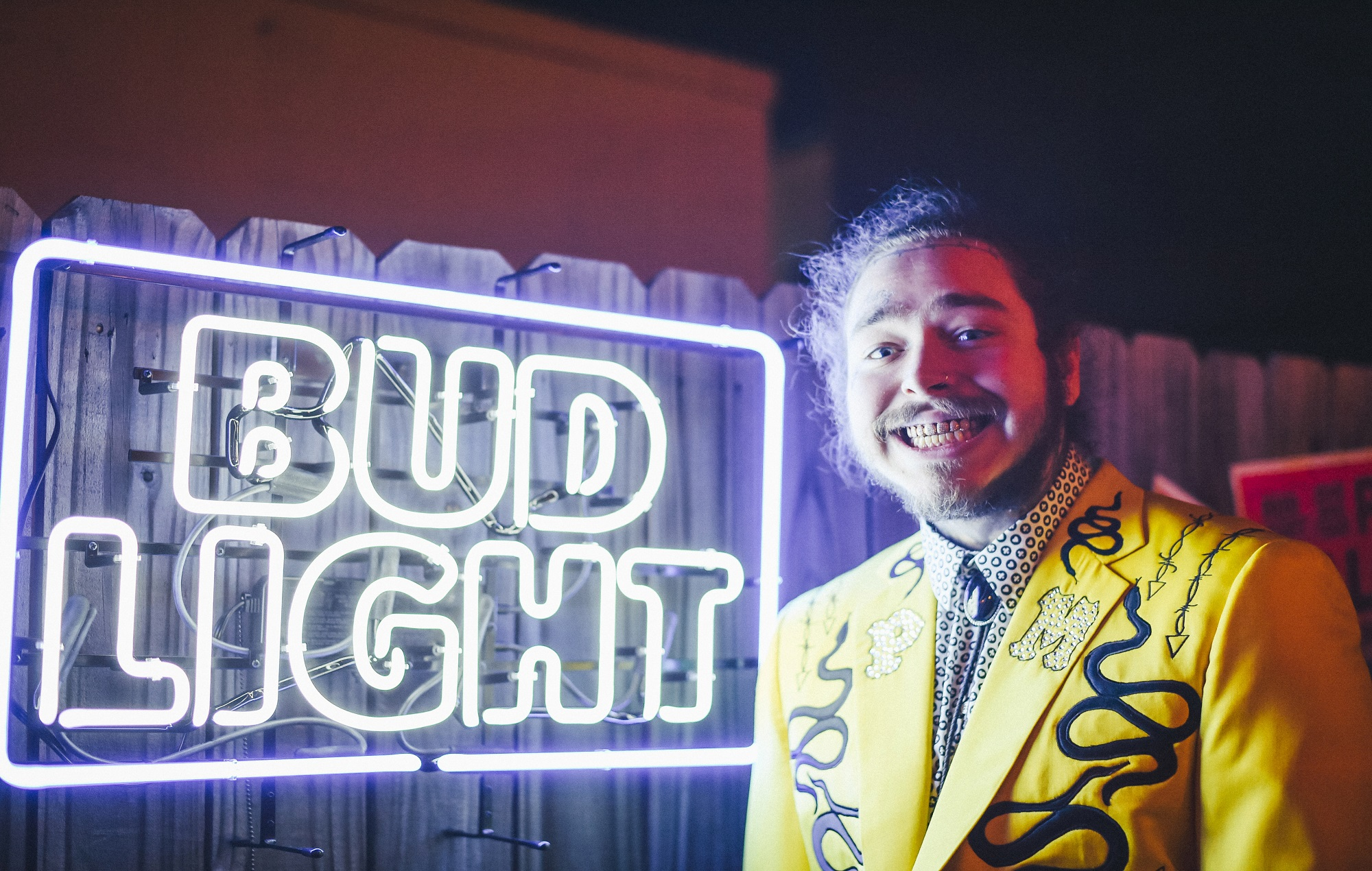 Bud For Me: Post Malone launches merch range with Bud Light