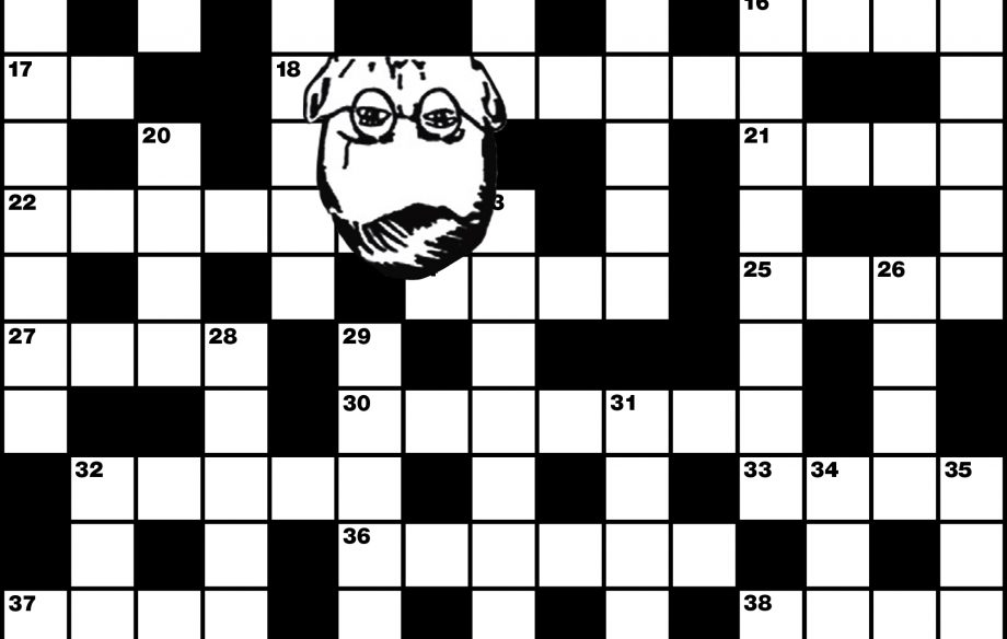 Here's your weekend entertainment: it's the legendary NME crossword