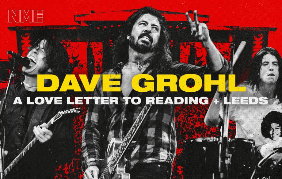 """Dave Grohl on Foo Fighters' return to Reading: """"This festival is my first love"""""""