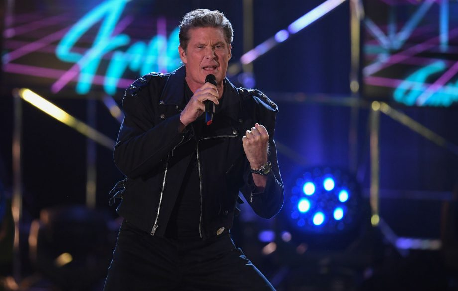 David Hasselhoff's new album features covers of 'Sweet Caroline' and David Bowie's 'Heroes'