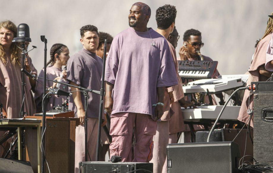 Image result for kanye west jesus on stage