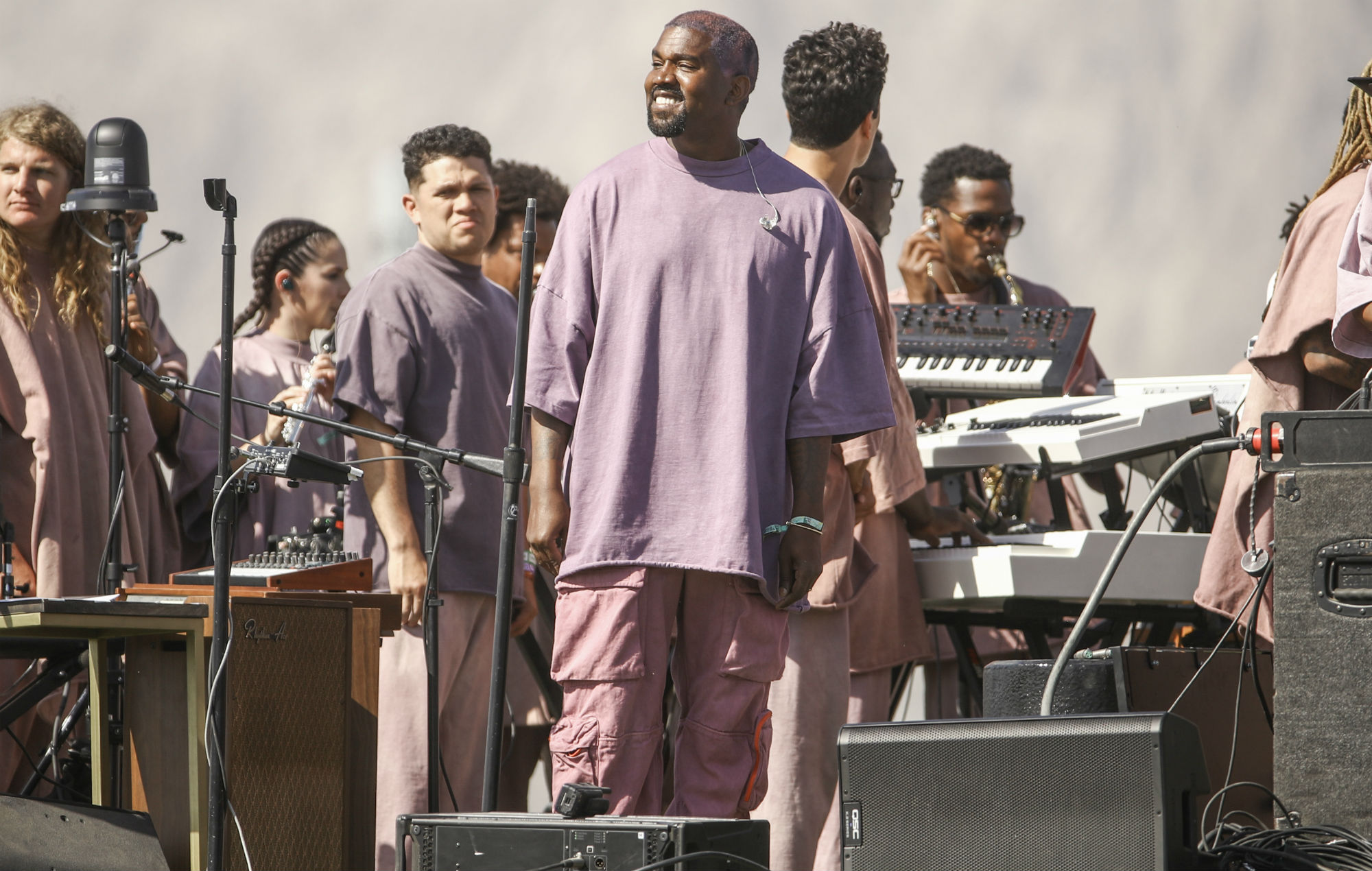 Watch Kanye West perform for prison inmates as he brings Sunday Service to Houston jail