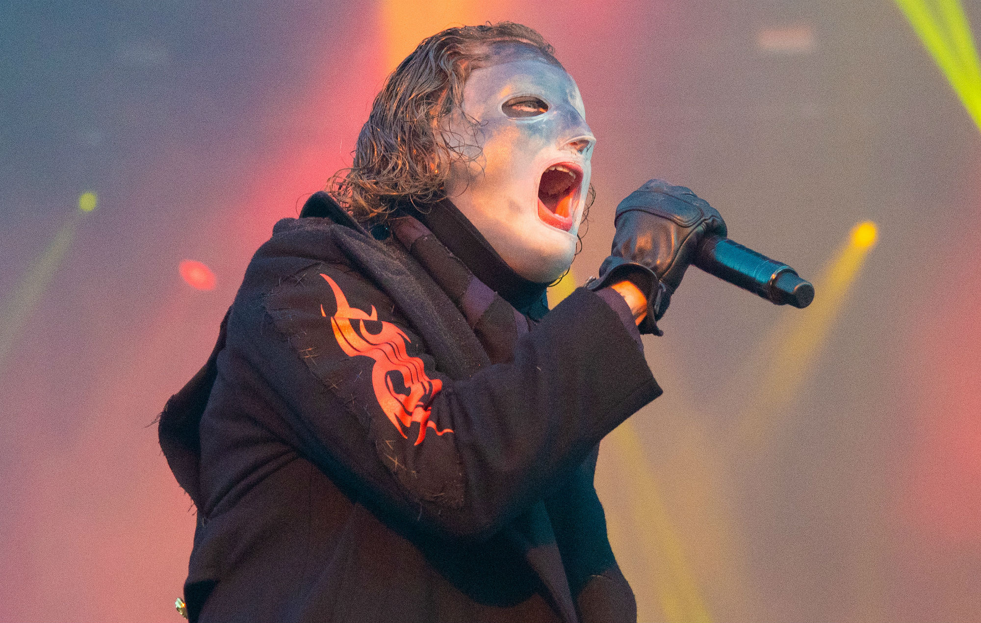 Watch Slipknot's Corey Taylor meet seriously convincing doppelgänger at fan event
