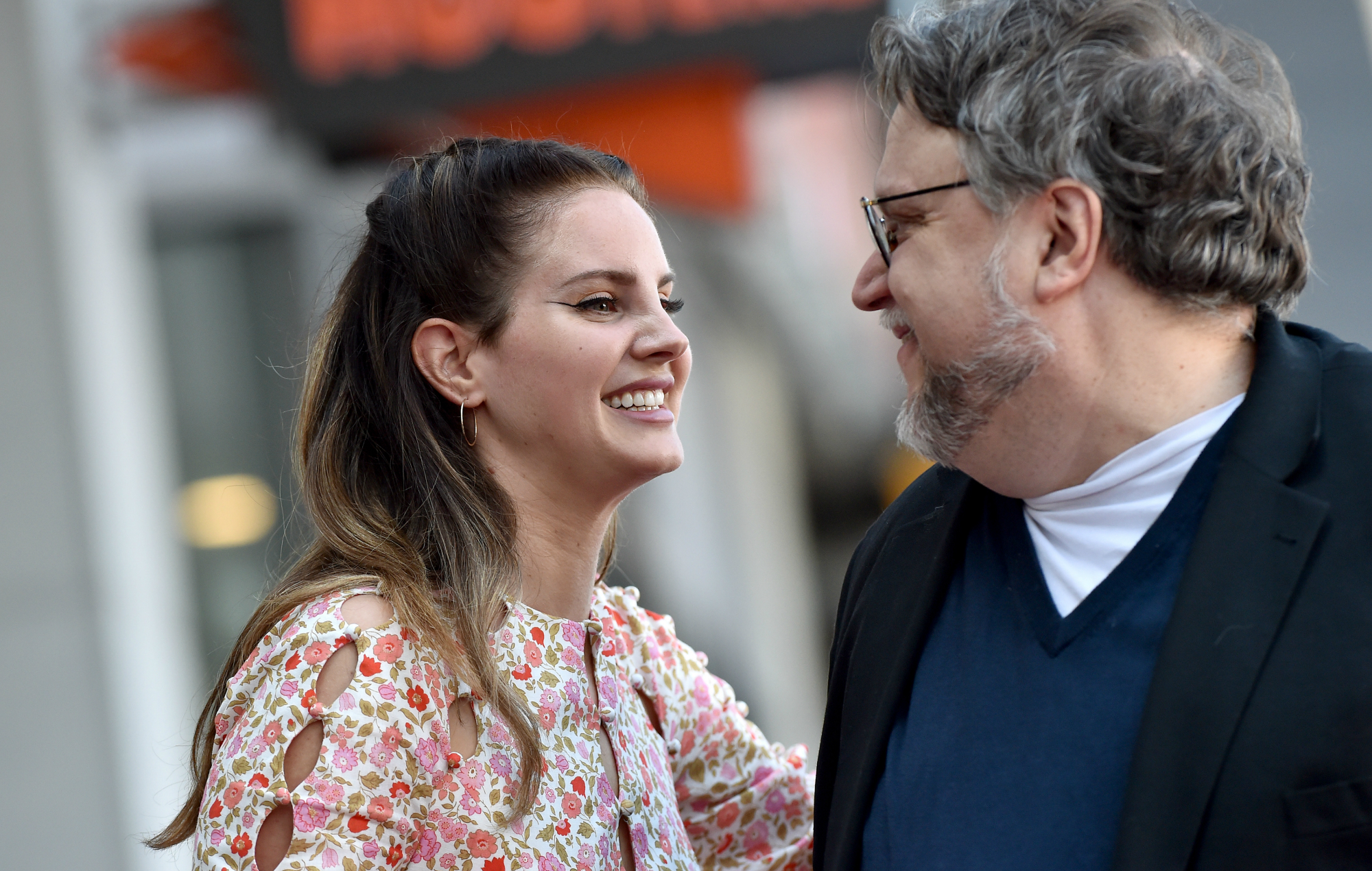Watch Lana Del Rey Present Guillemero Del Toro With Walk