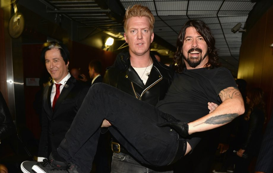 Dave Grohl responds to reports he's on the new Queens Of The Stone Age album