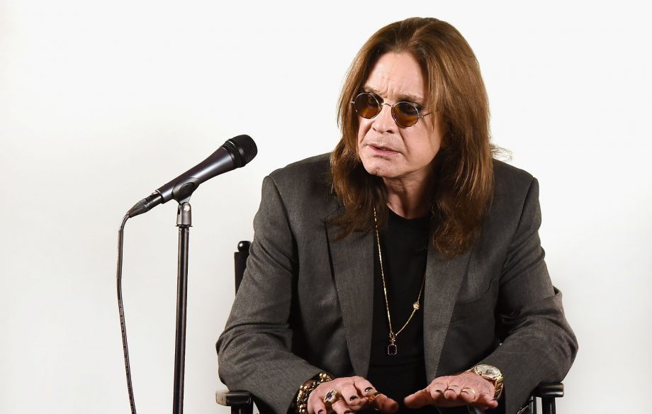 Ozzy Osbourne has been recording new music while recovering from surgery