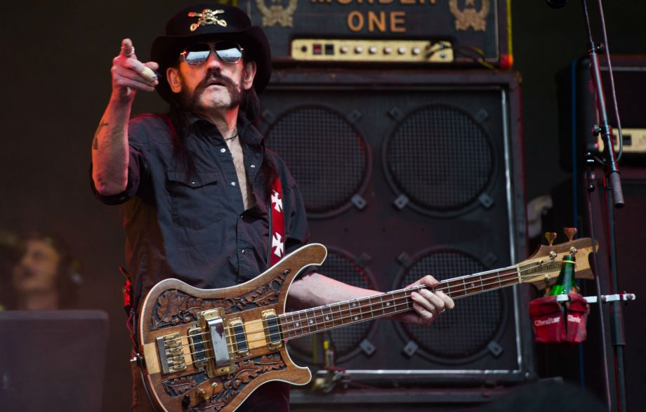 Listen to a previously unheard song from Motörhead's Lemmy, 'The Mask'