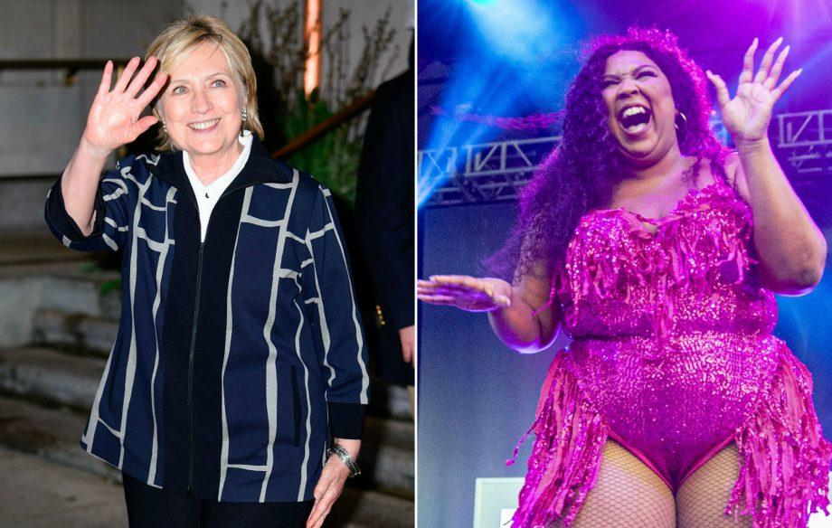 It looks like Hillary Clinton is a big fan of Lizzo's 'Truth Hurts'