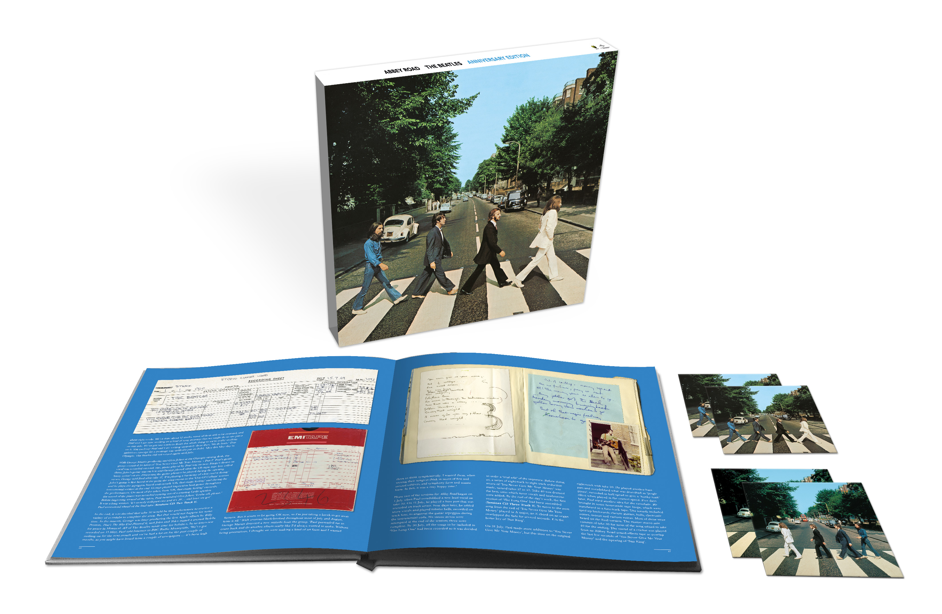The Beatles announce deluxe 50th anniversary 'Abbey Road' reissues