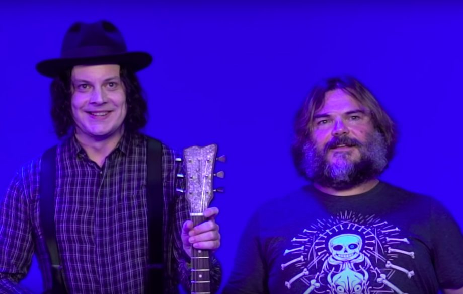 "Watch Jack Black visit Jack White's home studio to record their ""legendary collab"""