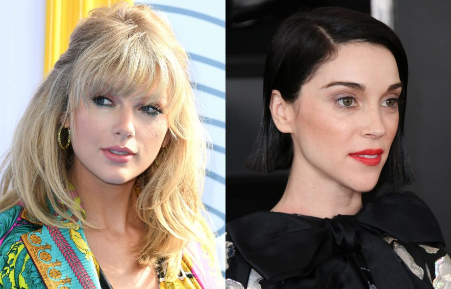 St Vincent has worked with Taylor Swift on a new song, 'Cruel Summer'