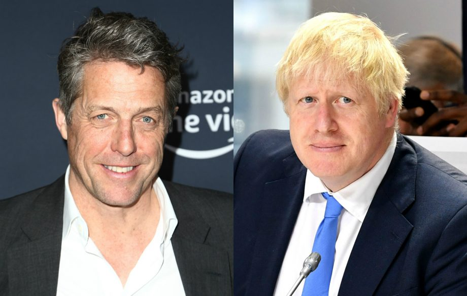 "Hugh Grant slams ""over-promoted rubber bath toy"" Boris Johnson over Parliament suspension plan"