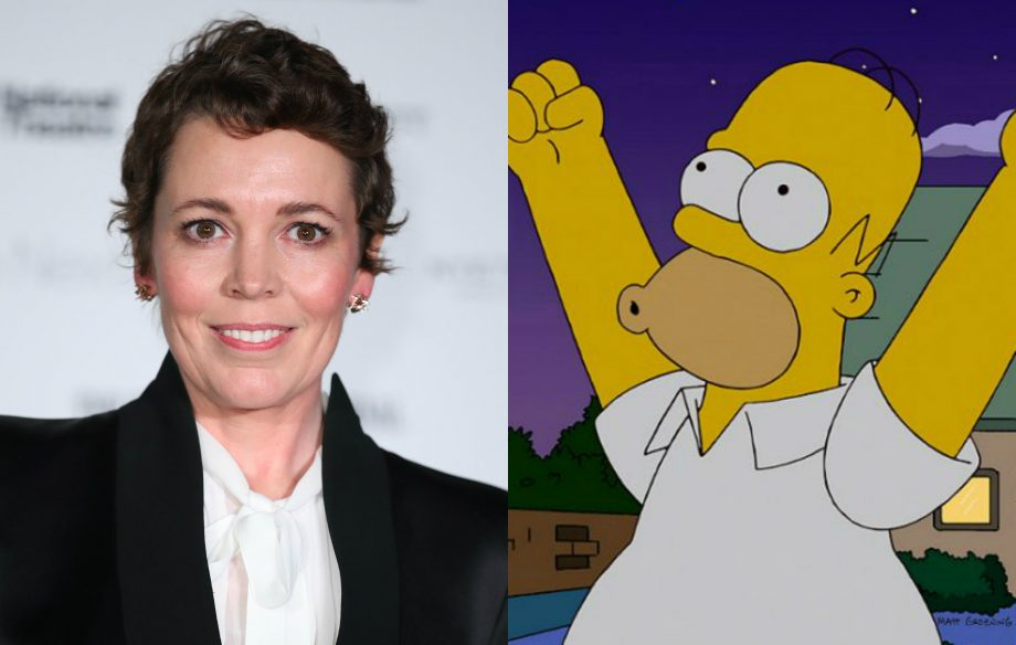 Olivia Colman to guest star as femme fatale in 'The Simpsons'