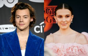 'Stranger Things' star Millie Bobby Brown and Harry Styles had the best time at Ariana Grande's show last night