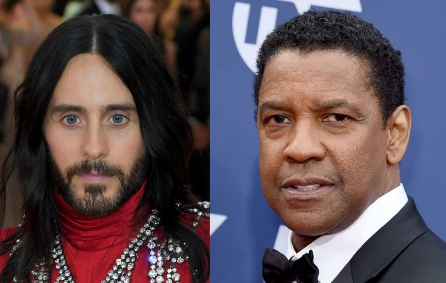 Jared Leto in talks to play a serial killer in new movie with Denzel Washington
