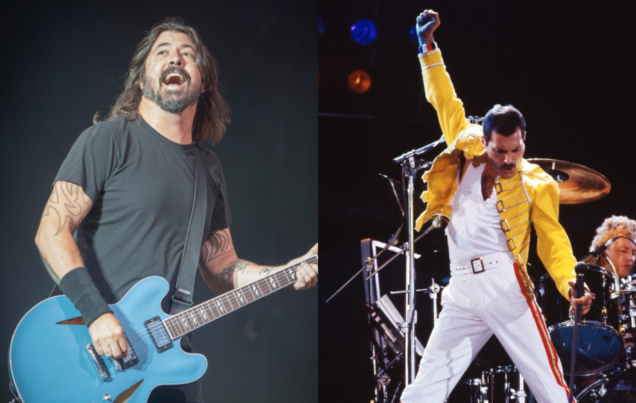 Watch Foo Fighters perform 'Under Pressure' with Freddie Mercury lookalike at Leeds Festival