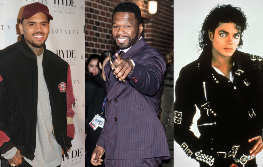 50 Cent crowns Chris Brown the new king of pop: