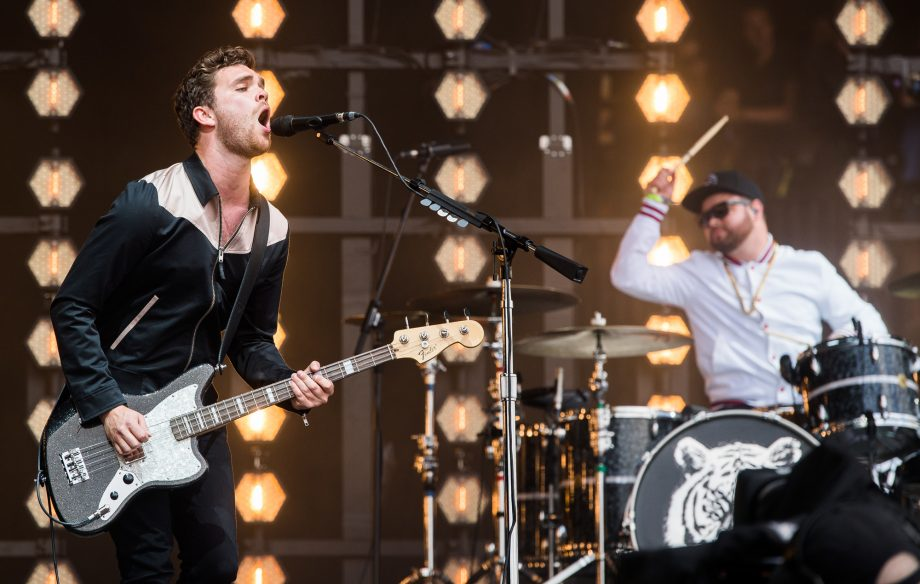 Watch as Royal Blood duet with their dads on stage in Southampton