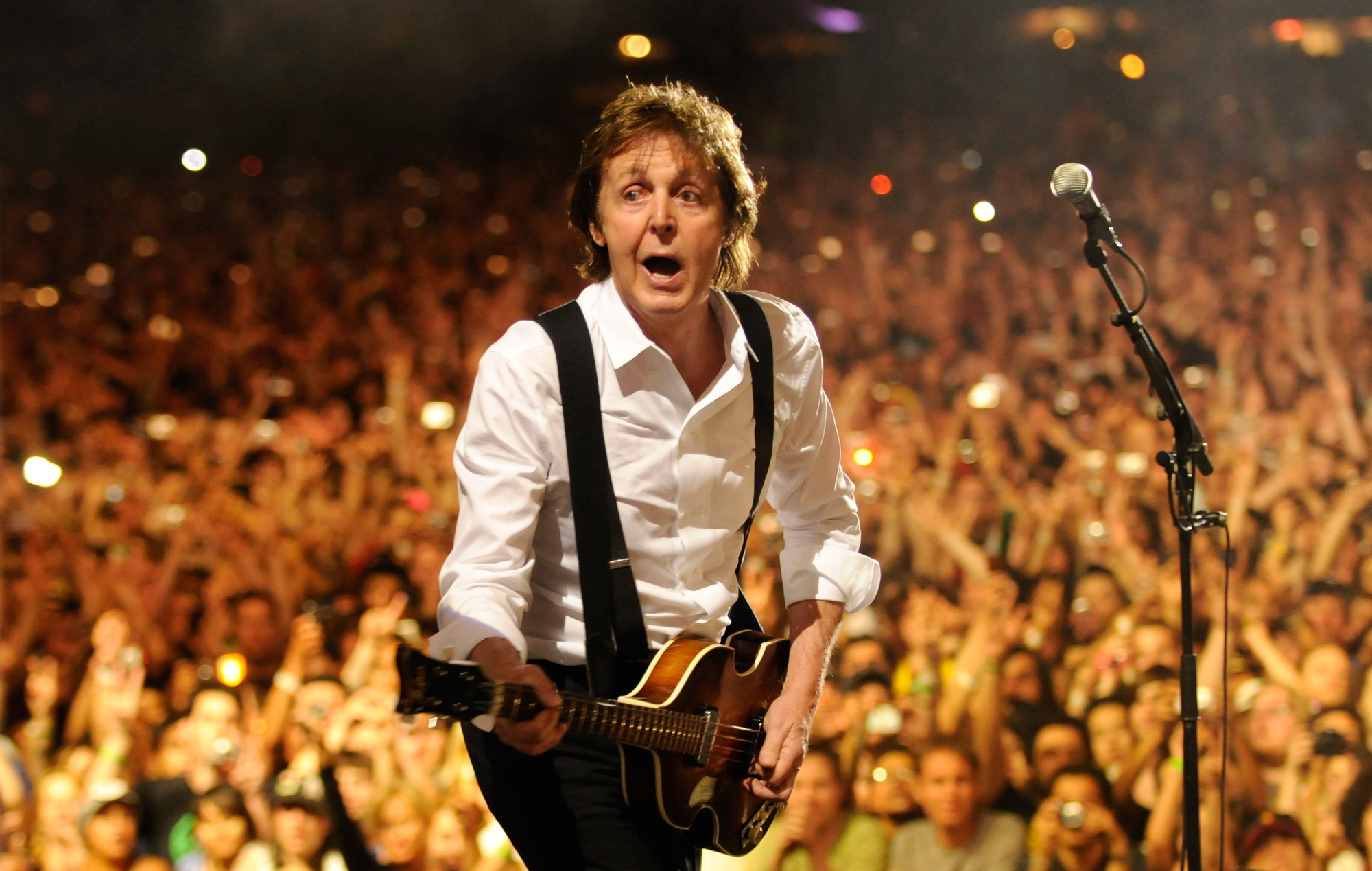 "Paul McCartney says headlining Glastonbury 2020 is a ""remote possibility"""