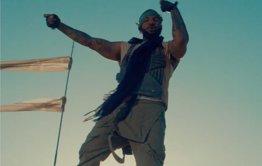 The Game channels 'Mad Max' in video for fiery new single 'West Side'