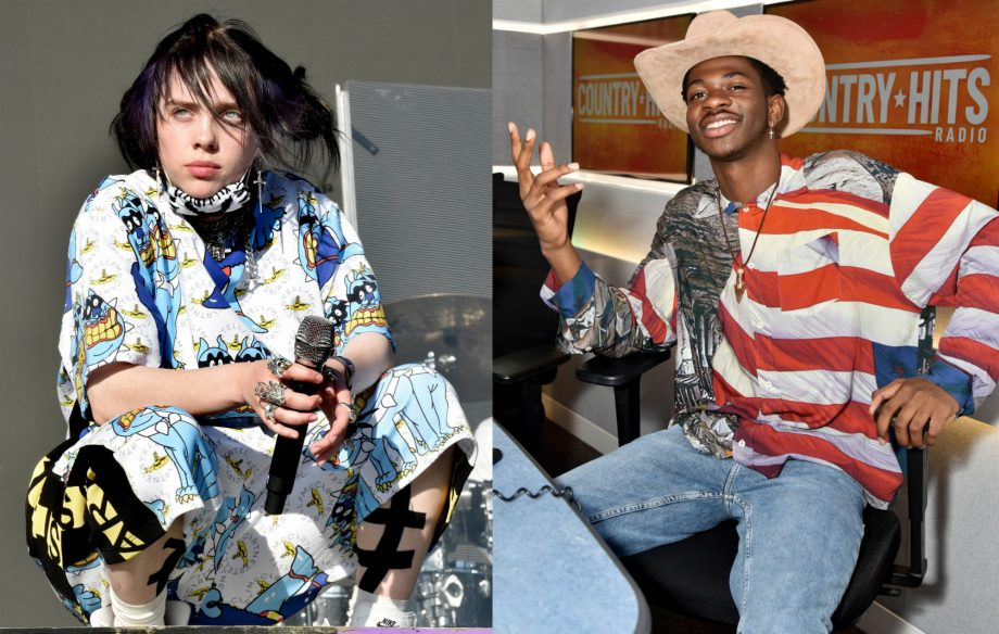 Billie Eilish ends Lil Nas X's 19-week reign at top of the US singles chart
